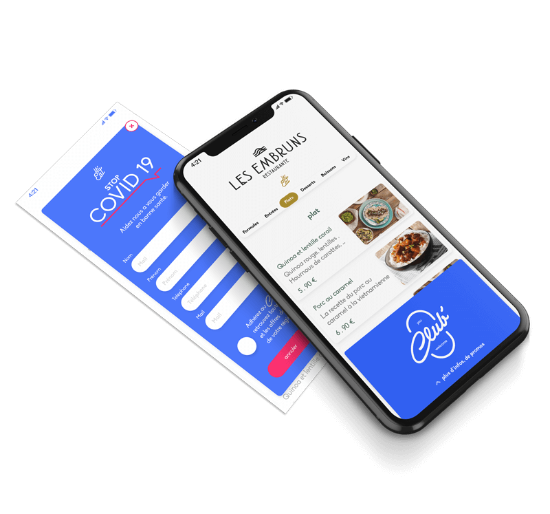 Logo Is'Eat, la carte digitale